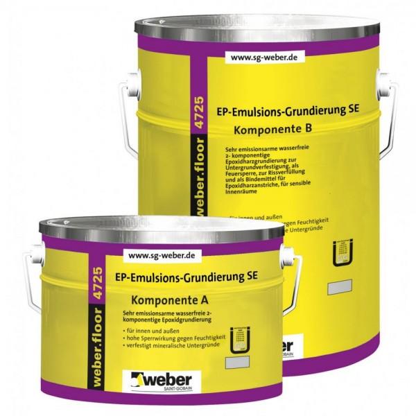 weber.floor 4725 EP- Emulsions- Grundierung SE Farblose, schnellhärtende, 2 - komponentige Reaktions