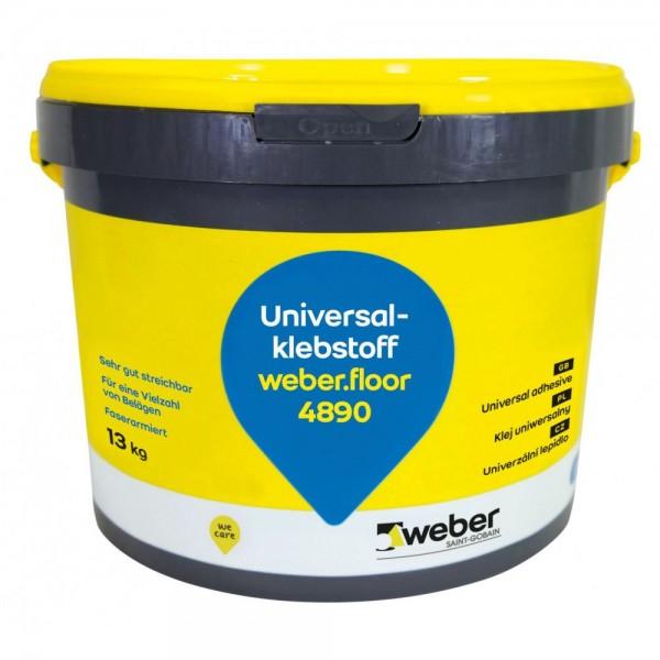 weber.floor 4890 Faserarmierter Universalklebstoff für alle gängigen Bodenbelagsarten