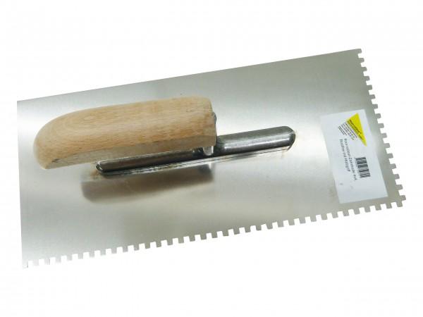 floor-colour-Zahnkelle 4x4 Rostfrei mit Holzgriff