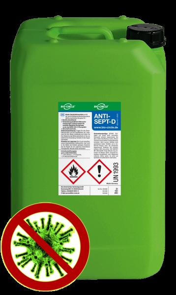 200 L Kunststofffass BIO-CIRCLE Antisept D Händedesinfektion