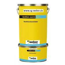 weber.xerm 847 Hochflexibler Reaktionsharzkleber für eine wasserfreie oder mediumbeständige Fliesenv