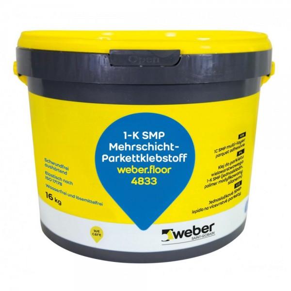 weber.floor 4833 Mehrschicht- Pakettklebstoff Elastischer einkomponentiger SMP-Klebstoff für Mehrsch