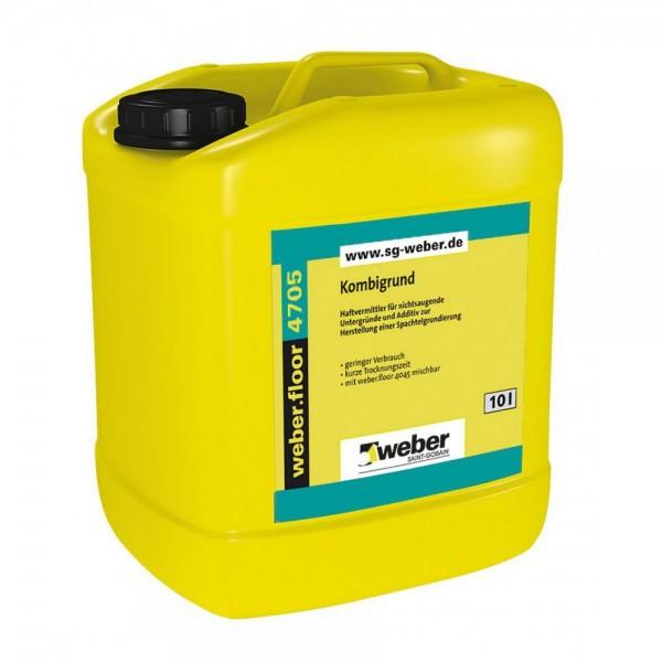 weber.floor 4705 Kombigrund Haftvermittler für nichtsaugende Untergründe und Additiv zur Herstellung