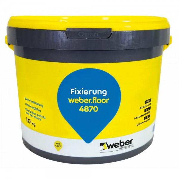 weber.floor 4870 Dispersionsfixierung für selbstliegende Teppichfliesen