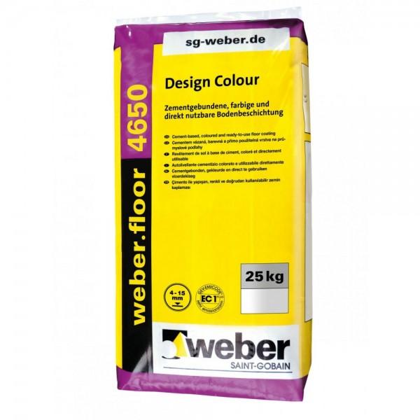 weber.floor 4650 Design Colour Zementgebundene farbige Bodenbeschichtung für Gewerbe- und Industrieb