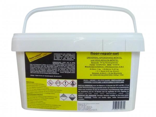 floor-repair-set 10 kg Universal Epoxidharz Mörtel und Hohlkehlenmörtel