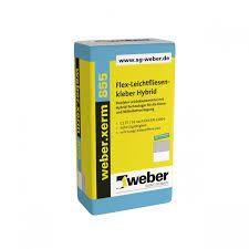 weber.xerm 855 Flexibler Leichtklebemörtel mit Hybrid-Technologie für die Dünn- und Mittelbettverleg