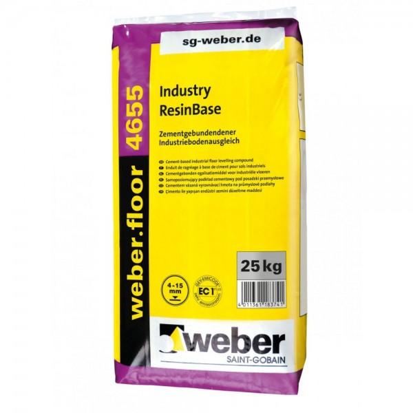 weber.floor 4655 Industry Resin Base Zementgebundener Industriebodenausgleich unter Reaktionsharzbes