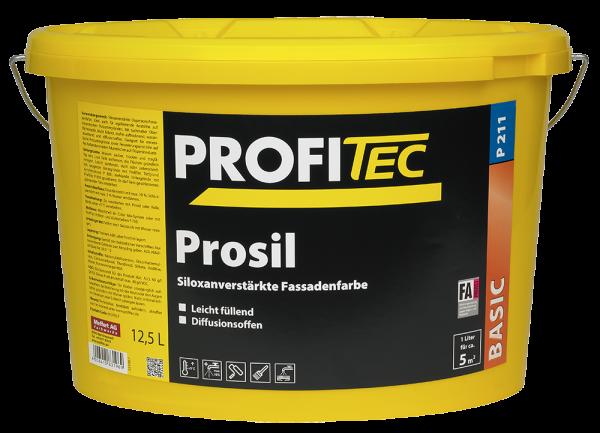 ProfiTec Prosil FA P211 Silokonharzverstärke Fassadenfarbe 12,5 l