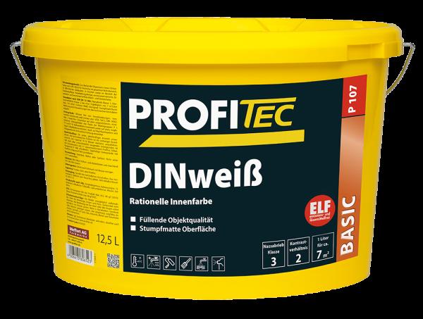 ProfiTec P 107 DINweiß Rationelle Innenfarbe 12,5 L